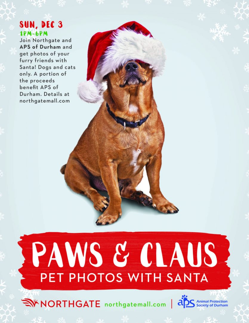 Paws & Claus - The Animal Protection Society of Durham